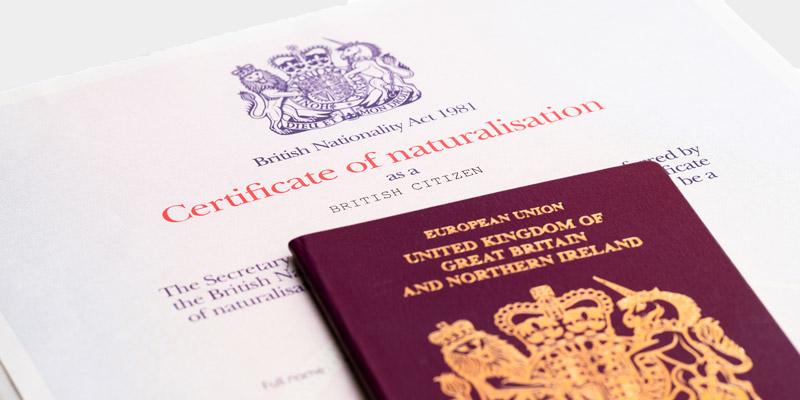 Требования для получения гражданства и паспорта Великобритании